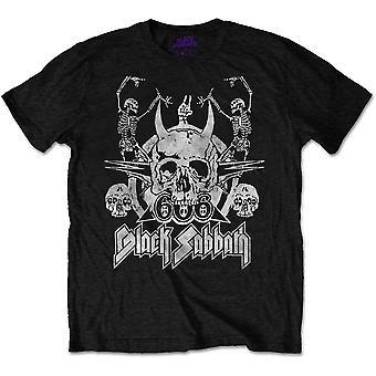 Black Sabbath - Dancing Unisex XX-Large T-Shirt - Black