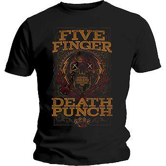 Five Finger Death Punch - Wanted Unisex X-Large T-Shirt - Black