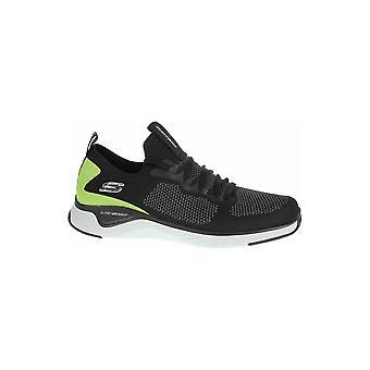 Skechers Solar Fuse 52757BKLM universal all year men shoes