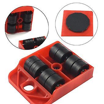Movimientos / Transporte / Palanca de cambios, rodillo de despeje deslizante de ruedas para muebles pesados