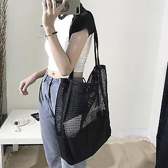 Fruit Shopping / Almacenamiento Ultra Reusable Grocery Bags &Tote Canvas Net Fabric