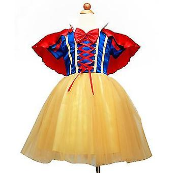 Meisjes prinses kostuum fancy jurken up Halloween party (90cm)