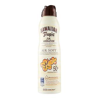 Solskärm Spray Silk Hydration Hawaiian Tropic Fuktgivande Spf 50 (220 ml)