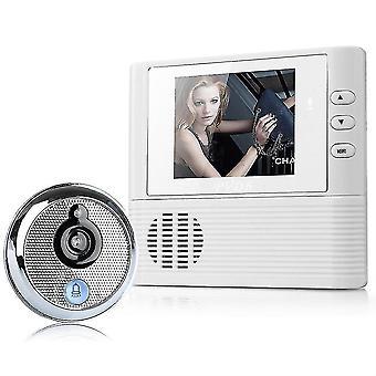 2,8'' lcd digital kikkhull seer dør øye ringeklokke video farge ir kamera