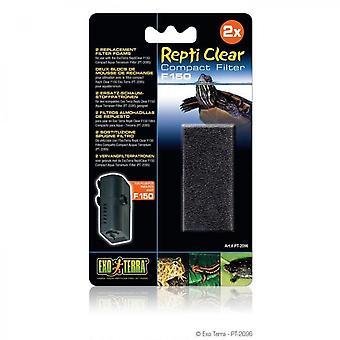 Exo Terra Spare Foam Repti Clear150 - For Reptile Or Amphibian