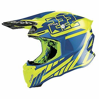 Airoh Twist 2.0 Replica Cairoli 2020 Motocross ATV Helmet Blue Yellow