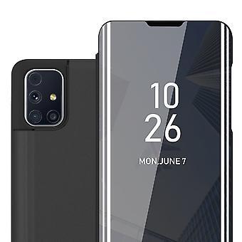 Hülle für Samsung Galaxy M31s Klappbare Handyhülle - Cover - mit Standfunktion und Kartenfach