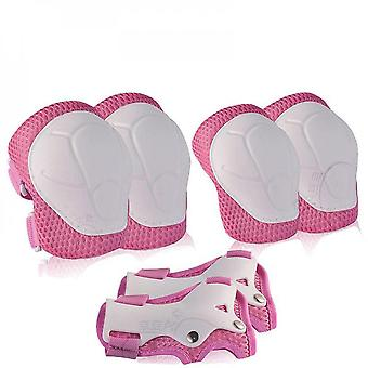 6pcs Protective Gears Set For Kids Children Knee Pad Elbow Pads Wrist