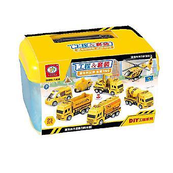 Children's bouwvoertuig DIY speelgoed