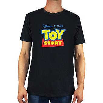 Toy Story Mens Distressed Logo T-Shirt