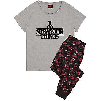 Stranger Things Womens/Ladies Long Pyjama Set