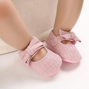 روز زهرة الطفل القطن الناعم المضاد للانزلاق أحذية طفل