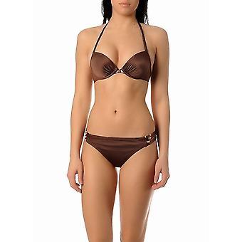 Triumph African Summer Underwired Imbottito Halter Triangle Bikini Set