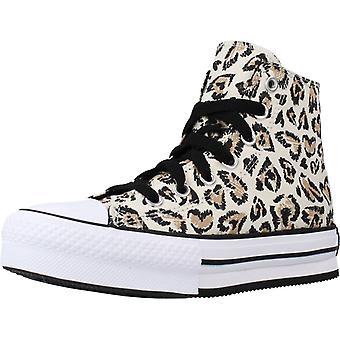 Chaussures Converse Ctas Eva Lift Hi Color Driftwood