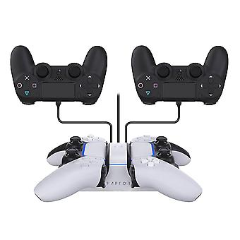 RAPTOR Controller Charger Dual PS4/PS5