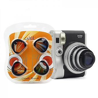 Color Close-up Lens Filter Set Compatible With Fujifilm Instax Mini 90