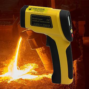 Dual Laser Lcd Display Infrared Thermometer -50 To 1050 Degree Celsius Ht-819