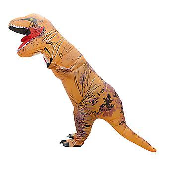 Tyrannosaurus Rex elsődleges színekben (felnőtt változat) Halloween Cosplay Tyrannosaurus Rex felfújható jelmez dinoszaurusz jelmez