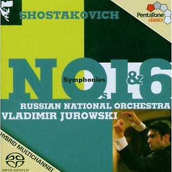 D. Shostakovich - Shostakovich: Symphonies Nos. 1 & 6 [SACD] USA import