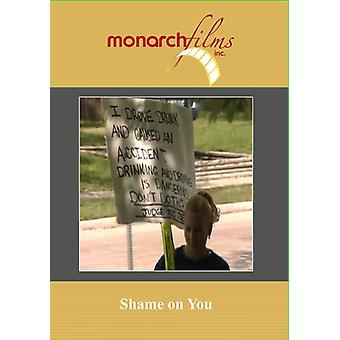 Shame on You [DVD] USA import