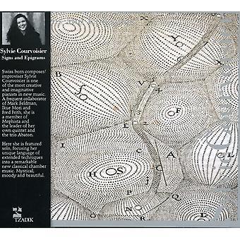 Sylvie Courvoisier - tekenen en epigrammen [CD] USA importeren