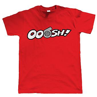 Ooosh, Mens Funny Turbo Car T Shirt - JDM Gift for Him Dad