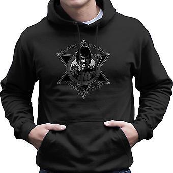 Black Star Ninja Ninjutsu Dojo American Ninja Men's Hooded Sweatshirt