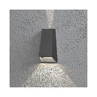 KONSTSMIDE Imola alluminio parete effetto luce