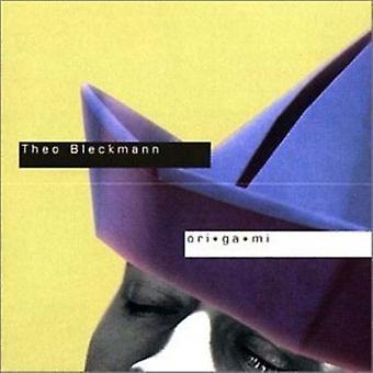 Theo Bleckmann - Origami [CD] USA import