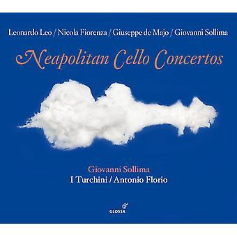 I Turchini - Neapolitan Cello Concertos [CD] USA import