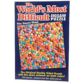 Werelds moeilijkste puzzel - zoete Shop (529 stuks) - 6220