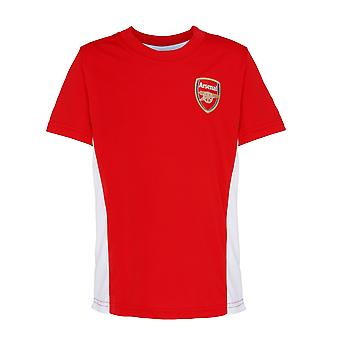 Official Football Merchandise Kids Arsenal FC Short Sleeve T-Shirt