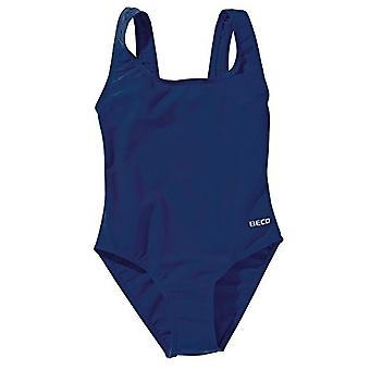 BECO Girls Surfer Girl Swimsuit - Navy