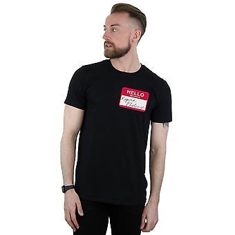 Regina Phalange Name Tag T-Shirt für Freunde Männer