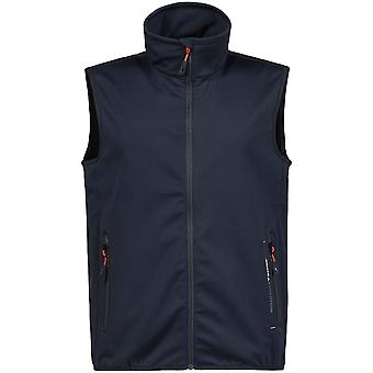 Musto Mens Crew Softshell Water Repellent Sailing Bodywarmer Gilet
