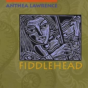 Anthea Lawrence - Fiddlehead [CD] USA import