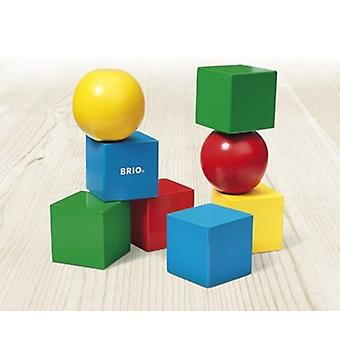 BRIO Magnetic Blocks 30123 Wooden Toddler Toy from 12 months