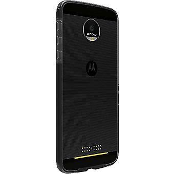 5 Pack -Verizon Two-Tone Case for Motorola Moto Z Droid (Black/Gray)