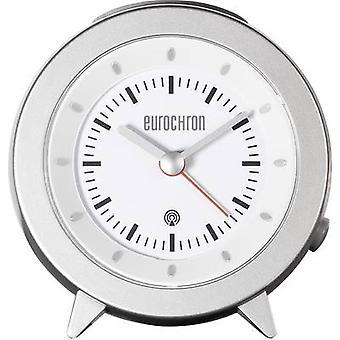 Eurochron RC155 Radio Wecker Silber