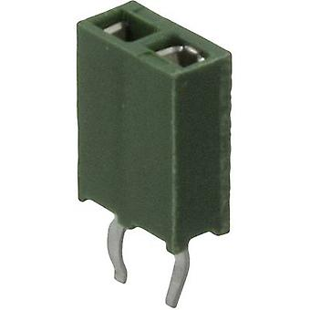 TE Connectivity Receptacles (standard) AMPMODU HV-100 Total number of pins 6 Contact spacing: 2.54 mm 215297-6 1 pc(s)