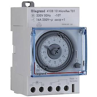 Legrand 412812 DIN rail mount timer analogue 16 A/250 V