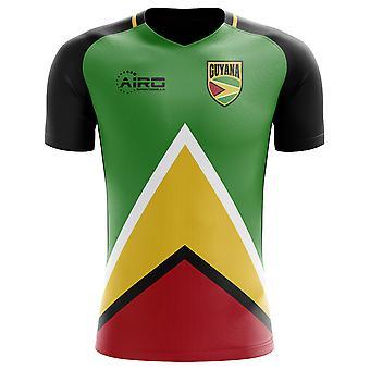 2018-2019 Guyana Home Concept fodboldtrøje-voksen langærmet