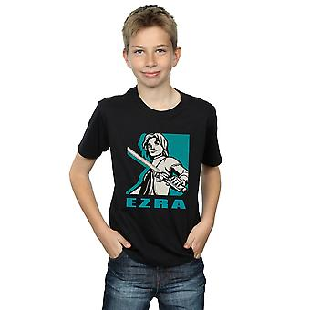 Star Wars jungen Rebellen Ezra T-Shirt