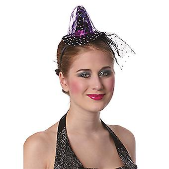 Witch Hat ster hoofdband accessoires carnaval Halloween heks