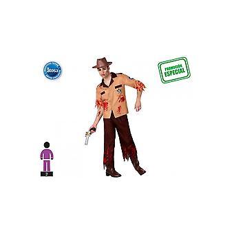 Männer Kostüme Polizei Zombie Kostüm für Männer