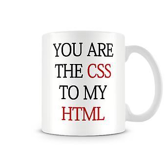 Christmas Stocking Filler ideaal geschenk uw CSS naar mijn HTML afgedrukt mok