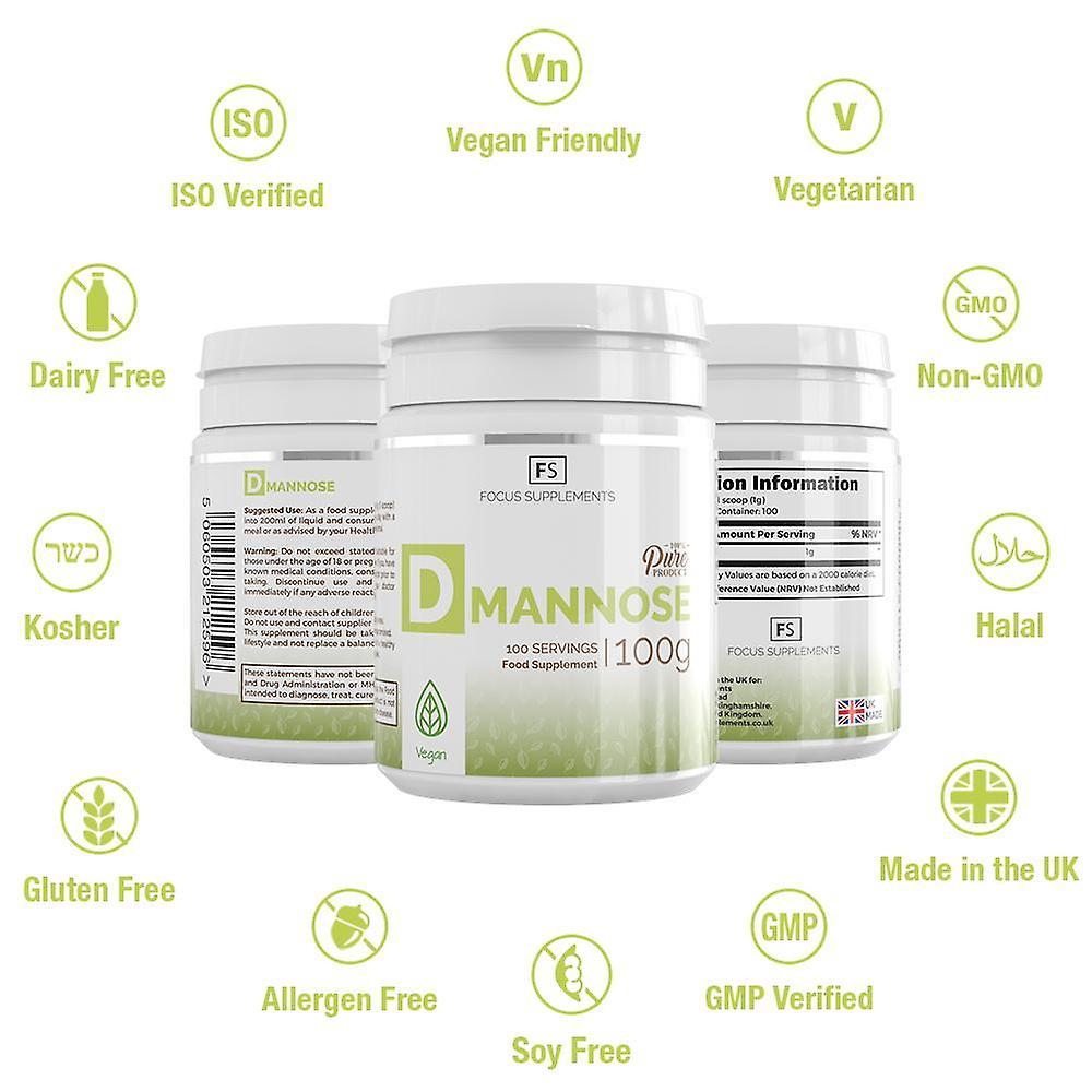 D-Mannose (Pure Powder) 300g (Vitamins & Supplements , Special Supplements)