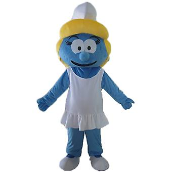 mascot SPOTSOUND of Smurfette, the daughter of the Smurf village