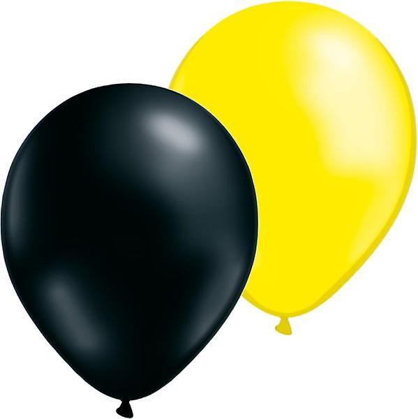 Ballonger 24-pack - Gul/Svart