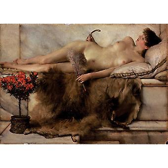 Tepidarium, Alma-Tadema Sir Lawrence, 24,2 x33cm